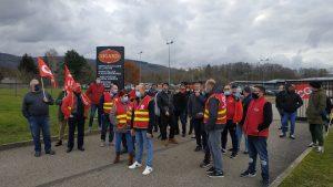 ournée de grève chez Bigard